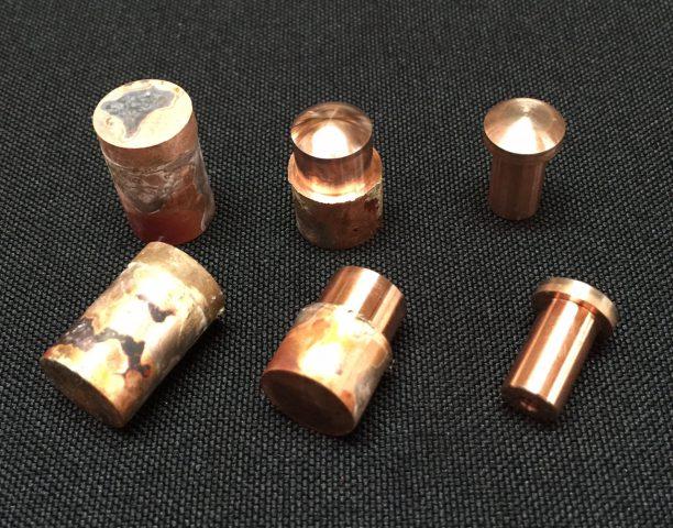 銅タングステンの接点