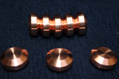 コイン型銅加工品