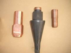 電線に使われている銅加工品