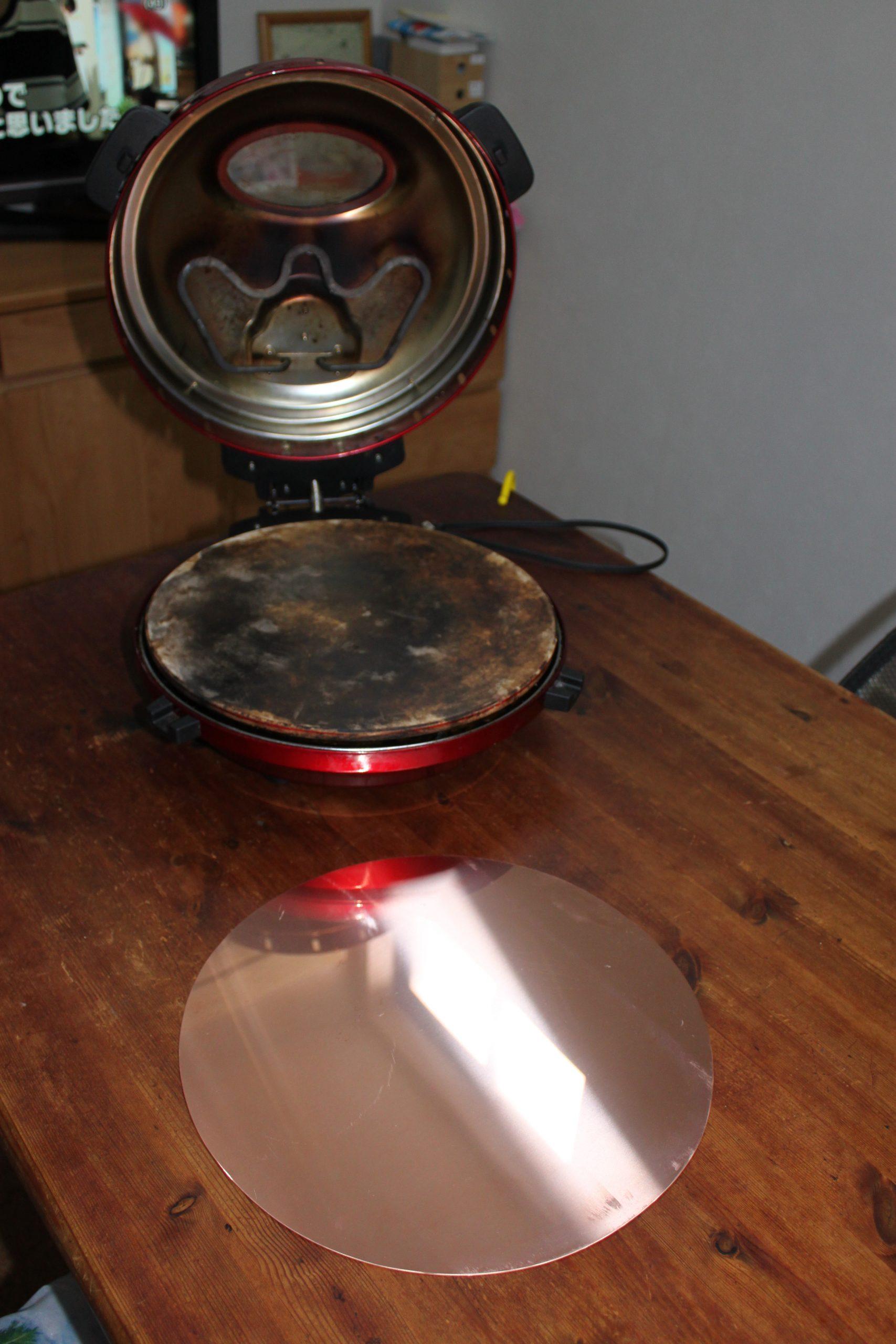 ピザ窯様31CM銅板 ピザを乗せる時に便利な銅板。銅ctorブランド 銅ドクター 銅どくたー