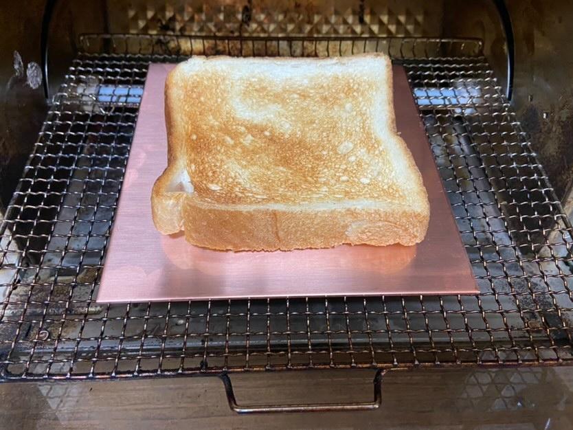 銅板で市販の食パンを焼いてみた!!