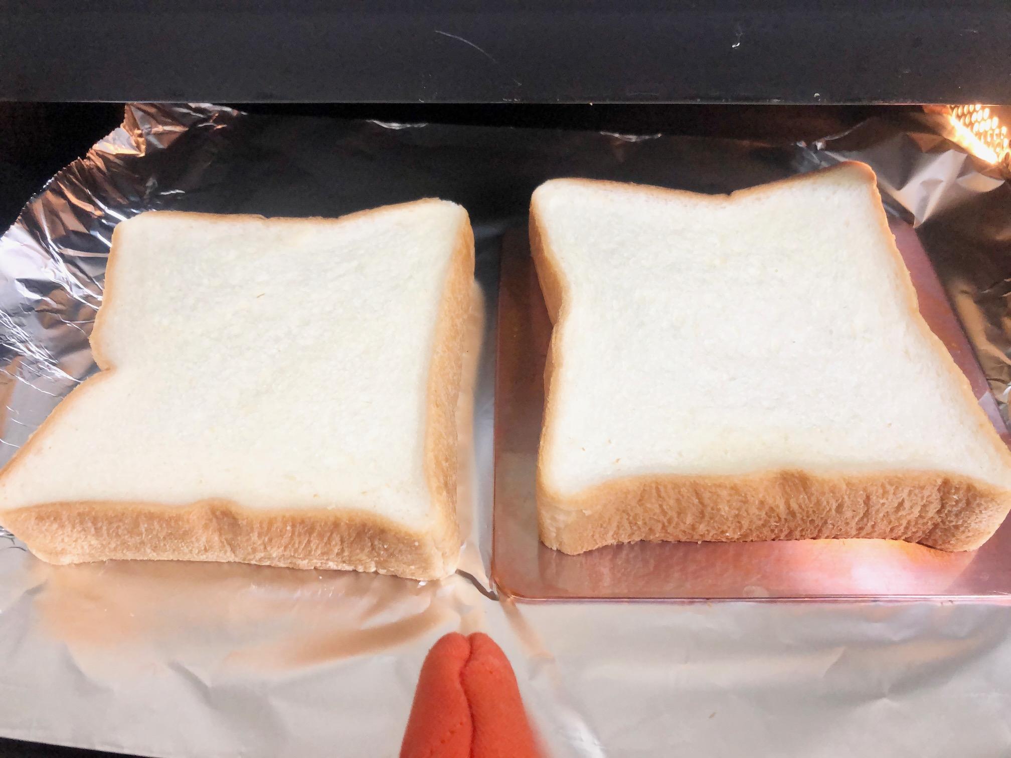 銅板でパンを焼いてみた