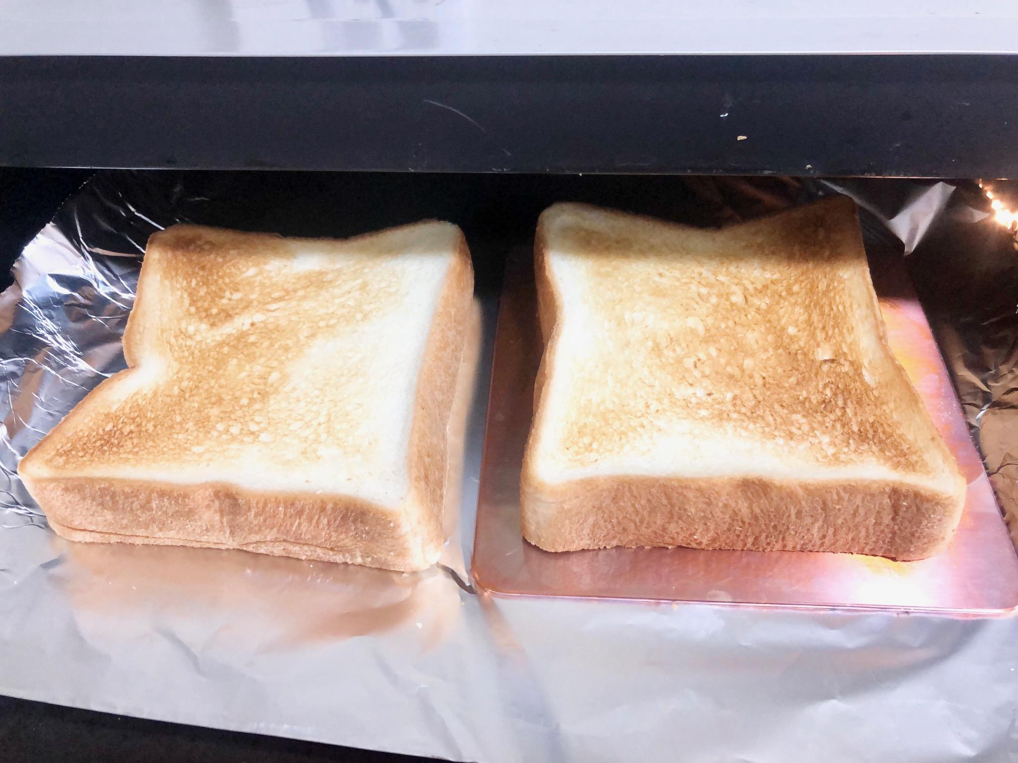 銅板でパンを焼いてみた2